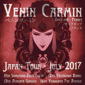 Venin Carmin Japan Tour