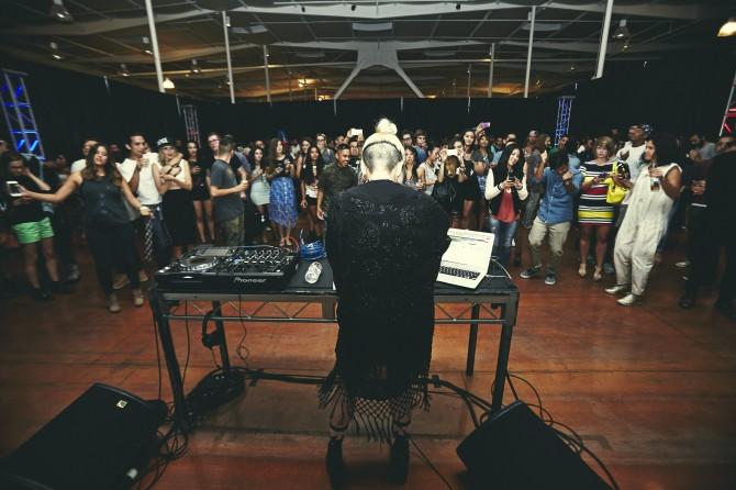 LAのRed Bull Studioで行われた『Desiderium』リリースイベントの模様 ©Koury Angelo / Red Bull Content Pool