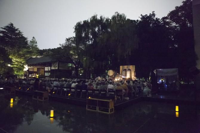 OAとしてアカデミー生のParachute Pulseがプレイしている際の会場の様子。  ©Yasuharu Sasaki / Red Bull Content Pool